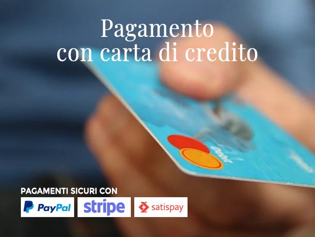 pagamento sicuro con carta di credito