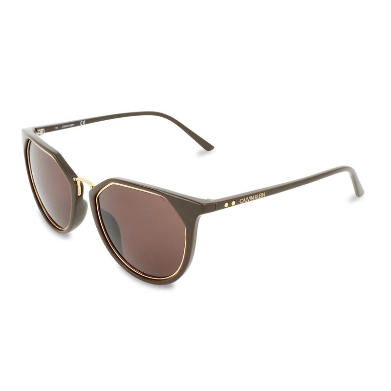 Calvin Klein occhiali unisex - Calvin Klein occhiali unisex. Montatura in acetato. Venduto con custodia originale. Diametro 54 mm.