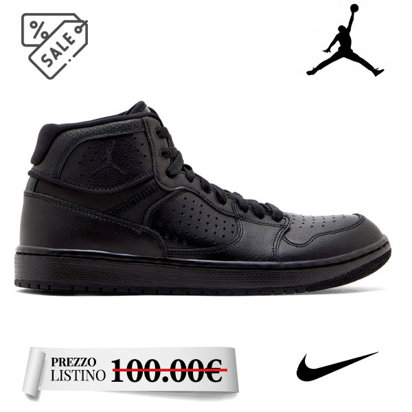 Nike JordanAccess black  - Nike JordanAccess black JordanAccess-AR3762_003. Sneakers da uomo. Soletta interna ed interno in materiale tessile.
