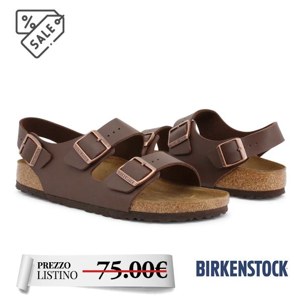 Birkenstock Milano MILANO_034703_DKBROWN - Birkenstock Milano MILANO_034703_DKBROWN. Comodissimo. Chiusura con fibbie. Sandalo da Uomo.