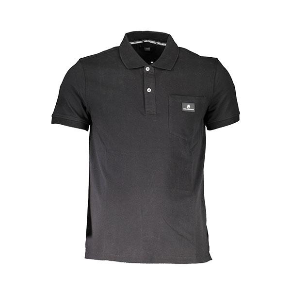 Karl lagerfeld polo nera - Karl lagerfeld beachwear polo maniche corte nero. Composizione: 95% cotone, 5% elastan.