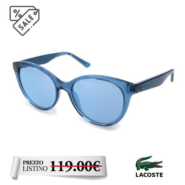 Lacoste occhiale sole - Lacoste occhiale sole collezione Estate. Occhiale da donna con montatura in acetato.