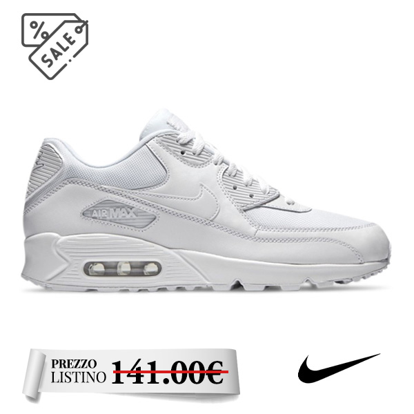 Nike Air Max 90 Essential - Nike Air Max 90 Essential. Sneakers da uomo. Tomaia in materiale sintetico, tessile e pelle. Suola in gomma.