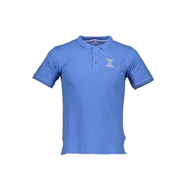 Polo Avirex azzurra - Polo Avirex maniche corte azzurra. Composizione: 100% cotone.