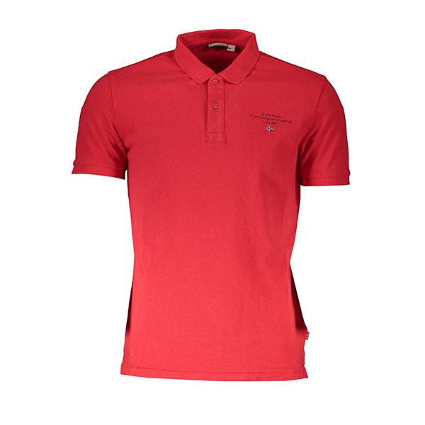 Polo Napapijri rossa - Polo Napapijri rossa. Napapijri polo maniche corte rosso. Composizione: 100% cotone.